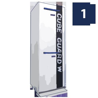 機密文書回収ボックス設置